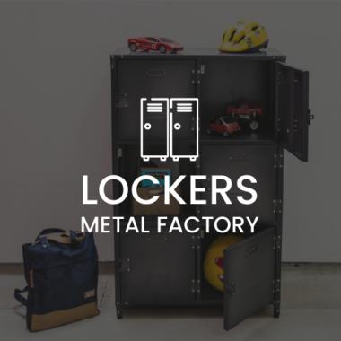 LINEA LOCKERS DE METAL FACTORY