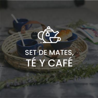 SETS DE MATES, CAFÉ Y TÉ